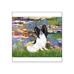 Lilies (2) & Papillon Square Sticker 3
