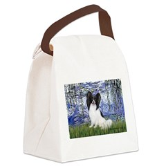 Lilies (#6) & Papillon Canvas Lunch Bag