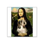 Mona Lisa / PBGV Square Sticker 3