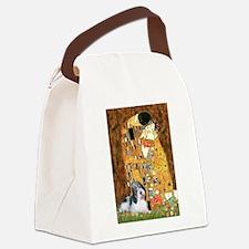 The Kiss/PBGV Canvas Lunch Bag