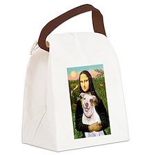 Mona's Pitbull Canvas Lunch Bag