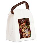 Path / Pitbull Canvas Lunch Bag