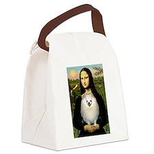 Mona / Pomeranian(w) Canvas Lunch Bag