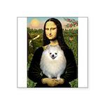 Mona / Pomeranian(w) Square Sticker 3