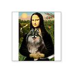 Mona and her Parti Pom Square Sticker 3