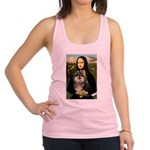 Mona and her Parti Pom Racerback Tank Top