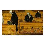 Starry/3 Pomeranians Puzzle Coasters (set of 4)