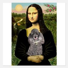Mona / Poodle (s) Invitations