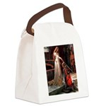 Accolade / Poodle (Apricot) Canvas Lunch Bag