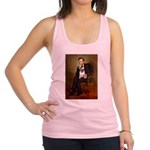 Lincoln's Pug Racerback Tank Top