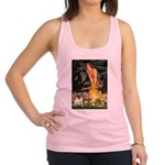 Fairies & Pug Racerback Tank Top
