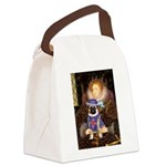 Queen-Sir Pug (17) Canvas Lunch Bag
