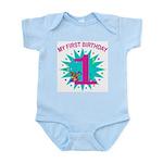 1st Birthday Infant Creeper