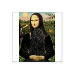 Mona Lisa /Puli Square Sticker 3