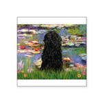 Water Lilies Square Sticker 3