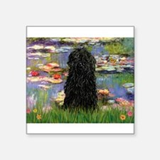 """Water Lilies Square Sticker 3"""" x 3"""""""