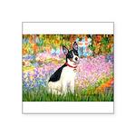 Garden / Rat Terrier Square Sticker 3