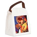 Mandolin / Rat Terrier Canvas Lunch Bag