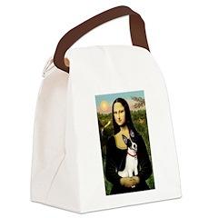 Mona / Rat Terrier Canvas Lunch Bag