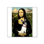 Mona / Rat Terrier Square Sticker 3