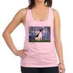 Lilies / Rat Terrier Racerback Tank Top