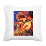 Angel / Rho Ridgeback Square Canvas Pillow