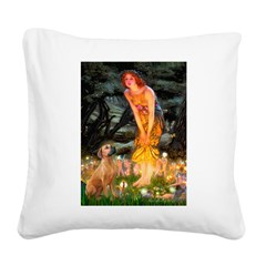 Mideve / Rho Ridgeback Square Canvas Pillow