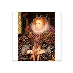 Queen / R Ridgeback Square Sticker 3