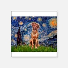 "Starry / R Ridgeback Square Sticker 3"" x 3"""