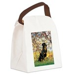 Spring / Rottweiler Canvas Lunch Bag