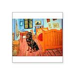 Room / Rottweiler Square Sticker 3