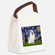 Starry / Samoyed Canvas Lunch Bag