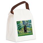 Bridge / Schipperke #4 Canvas Lunch Bag