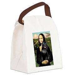 Mona's Schipperke (#5) Canvas Lunch Bag