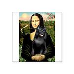 Mona's Schipperke (#5) Square Sticker 3
