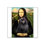 Mona / Schipperke Square Sticker 3