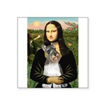 Mona / M Schnauzer Square Sticker 3