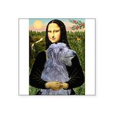 "Mona /Scot Deerhound Square Sticker 3"" x 3"""