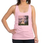 Seine / Scottie (w) Racerback Tank Top
