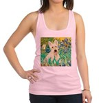 Irises / Scottie (w) Racerback Tank Top