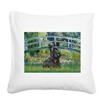 Bridge - Scotty #1 Square Canvas Pillow