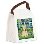 Bridge / Scottie (w) Canvas Lunch Bag
