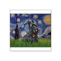 StarryNight-Scotty#1 Square Sticker 3