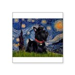 Starry / Scotty(bl) Square Sticker 3