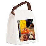 Cafe / Scottie (w) Canvas Lunch Bag