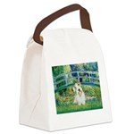Bridge/Sealyham L2 Canvas Lunch Bag