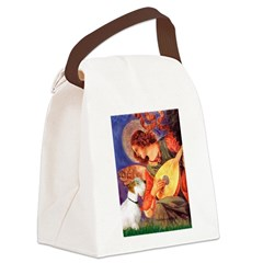 Angel/Sealyham L1 Canvas Lunch Bag