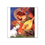 Angel/Sealyham L1 Square Sticker 3