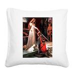 Accolade/Sealyham L1 Square Canvas Pillow