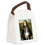 Mona Lisa's Sheltie (S) Canvas Lunch Bag